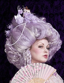 Marie Antoinette Custom Wig with Ship
